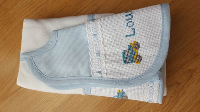 cross stitch custom baby gift