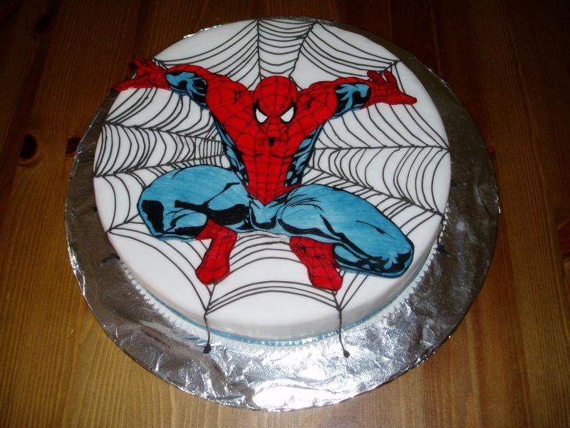 Wedding Cake Wedding Cakes Spiderman Birthday Cake