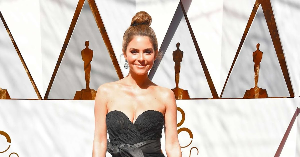 Maria Menounos dazzles in strapless ballgown at the 2018 ...