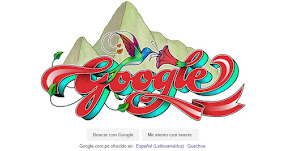 FIESTAS PATRIAS 2017: Google saluda al Perú con doodle del artista peruano Elliot Túpac