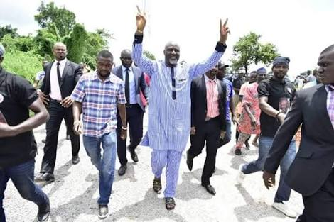 Dino Melaye Ignores Threats, Commissions Projects In Kogi (Pics)