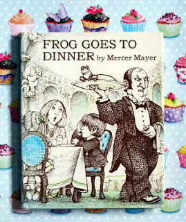 Frog goes to dinner by Mercer Mayer. Wordless Picture Book