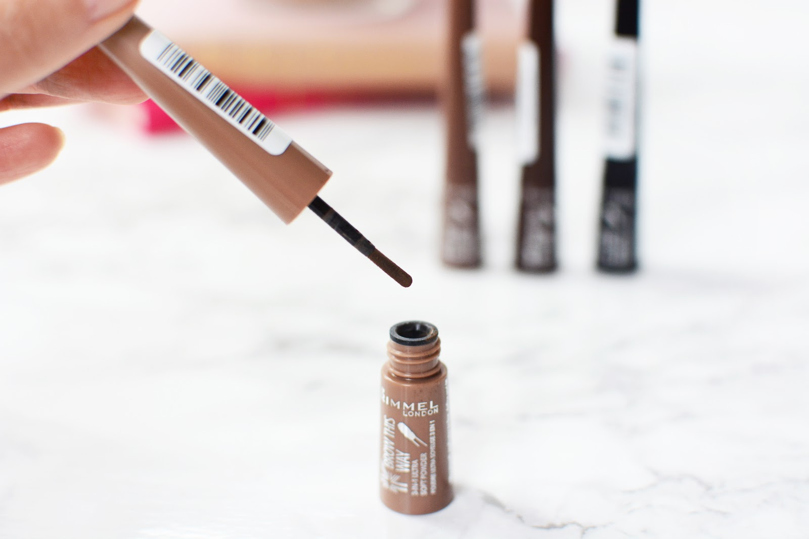 Rimmel Brow The Way Shake Filling Powders Review