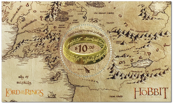 New Zealand Post One Ring Stamp