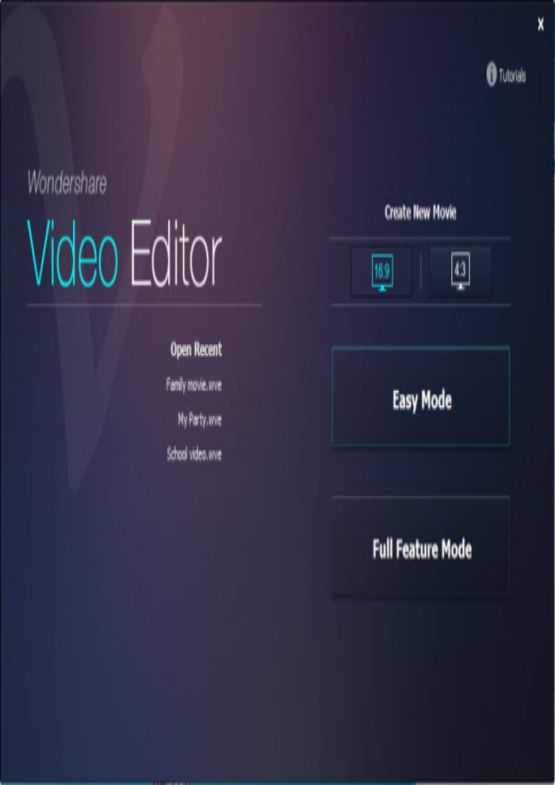 Download Wondershare Video Editor for PC free full version