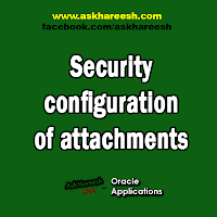 Security configuration of attachments, www.askhareesh.com