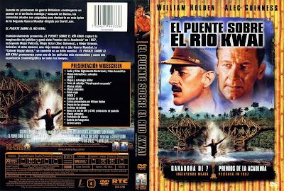 Carátula dvd: El puente sobre el río Kwai - (Descargar)