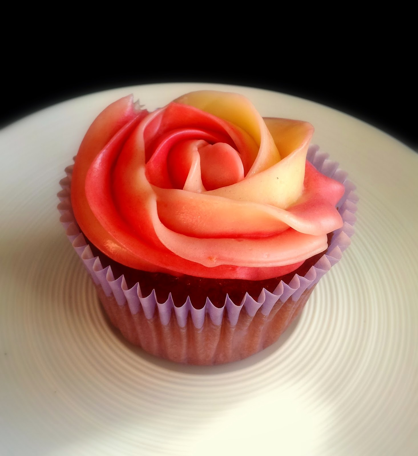 Weiße-Schokoladen-Cupcakes