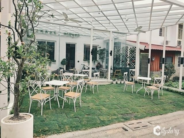 【南投市美食餐廳】中興新村-緩緩食光 brunch house-白小屋的悠閒早午餐