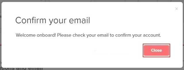 Konfirmasi email onesignal