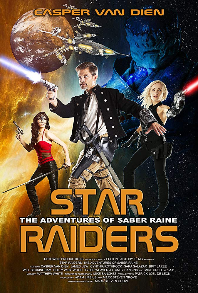 Star Raiders: The Adventures of Saber Raine 2017 Dual Audio Hindi 800MB BluRay ESubs Download