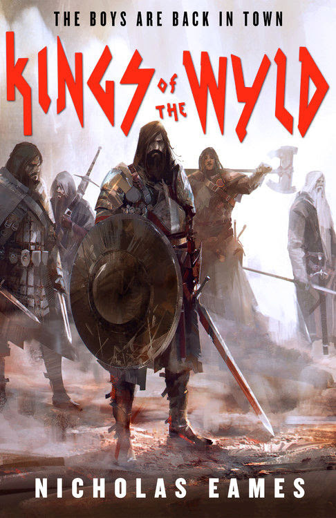 Interview with Nicholas Eames, author of Kings of the Wyld