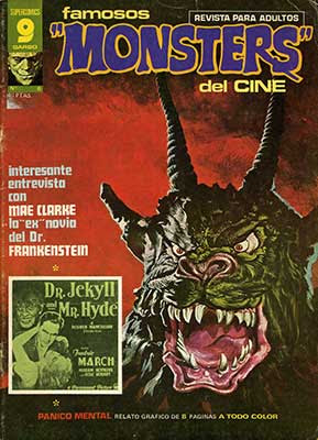 Famosos Monsters del Cine / número 6