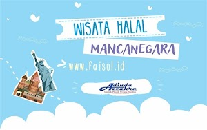Traveling Seru Wisata Halal Mancanegara for Adinda Azzahra Tour