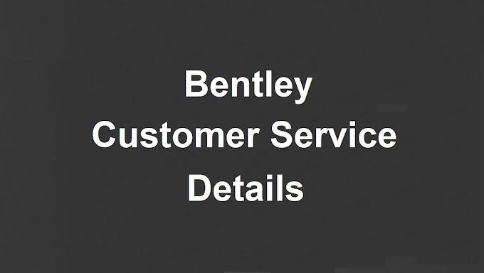 Bentley Customer Service Number | Bentley Phone Number
