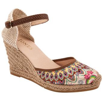 Jones Bootmaker Kristina Wedge Sandals