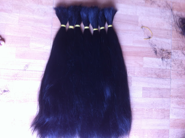 Tóc nối dài 80cm, Tóc nối đẹp nguyên thủy