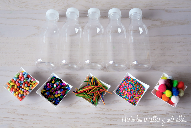 botellas sensoriales sensory bottles