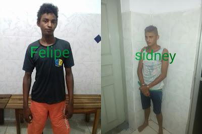 Na cadeia: Dupla é presa após roubar moto e arrombar comércio em São Bernardo