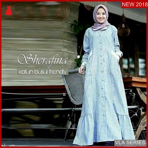 VLA202S175 Model Dress Sherefina Mc Murah BMGShop