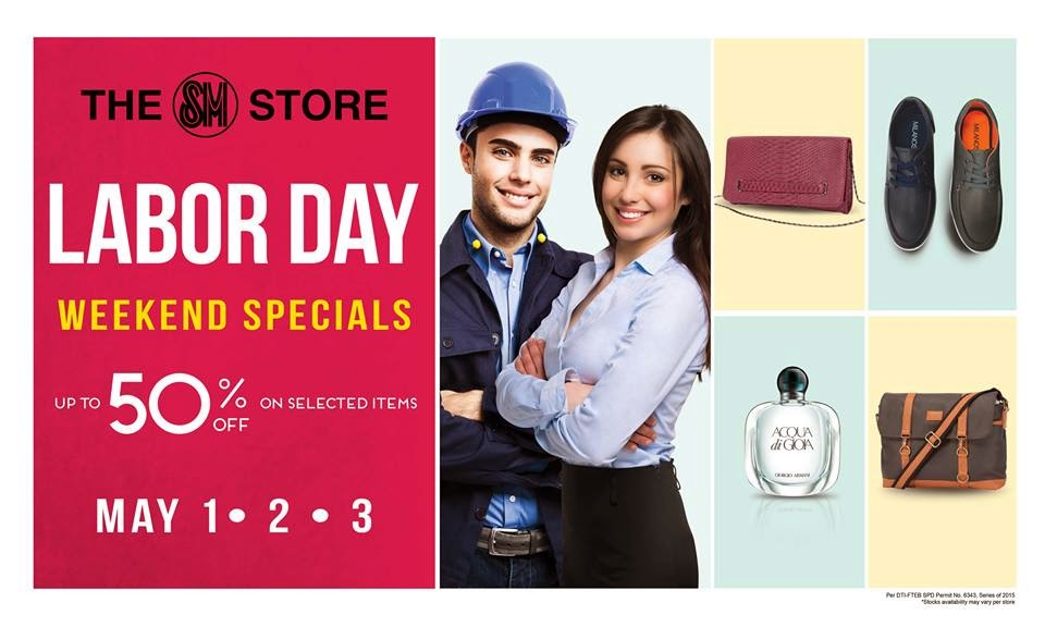 3d2916e5a3 SM Stores  Labor Day Weekend SALE 2015