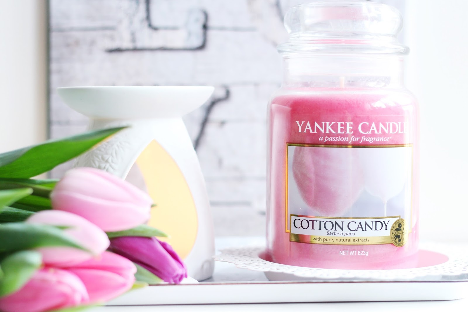 Cotton Candy świeca Yankee Candle