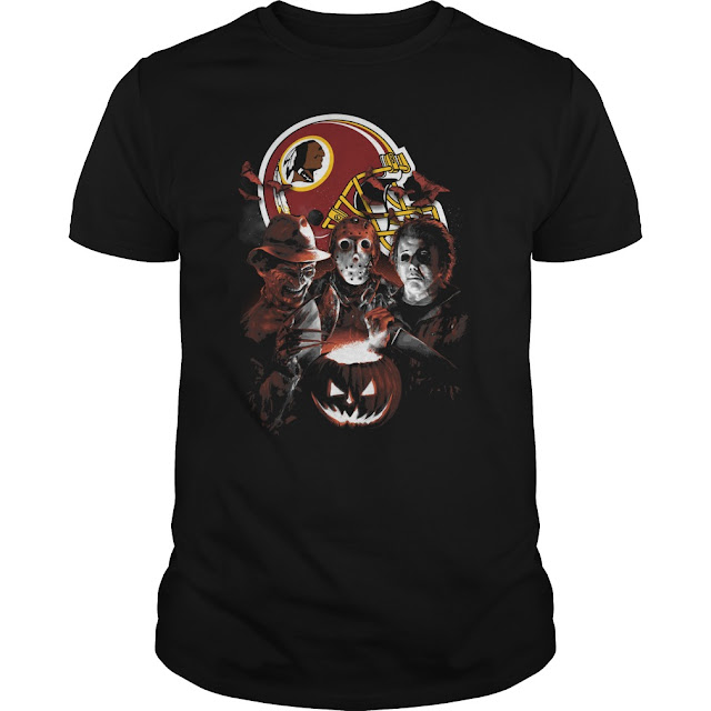 Washington Redskins Halloween Scream Team Shirt