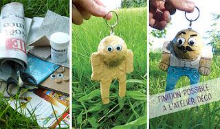 atelier de creation objet décoration en carton Cartons Dudulle - loisir créatif - stages d'été
