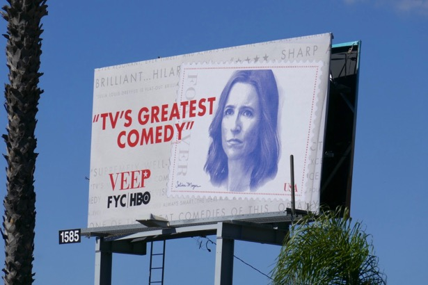 Veep season 7 Emmy FYC billboard
