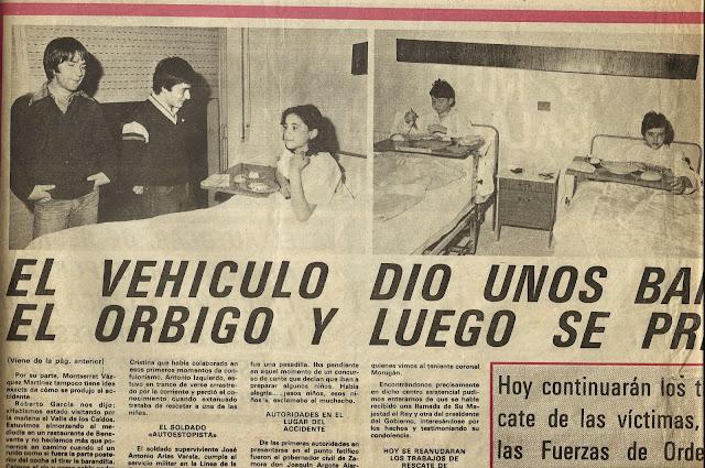 La tragedia del rió Orbigo en 1979.