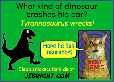 What kind of dinosaur crashes his car?
