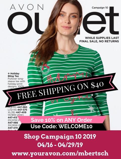 Avon Outlet Brochure are full of beauty bargain sales. Shop Avon Outlet Catalog Campaign 10 2019 online. #Avon #AvonOutlet #AvonCatalog #AvonRepresentative #AvonClearance #bargainshopping