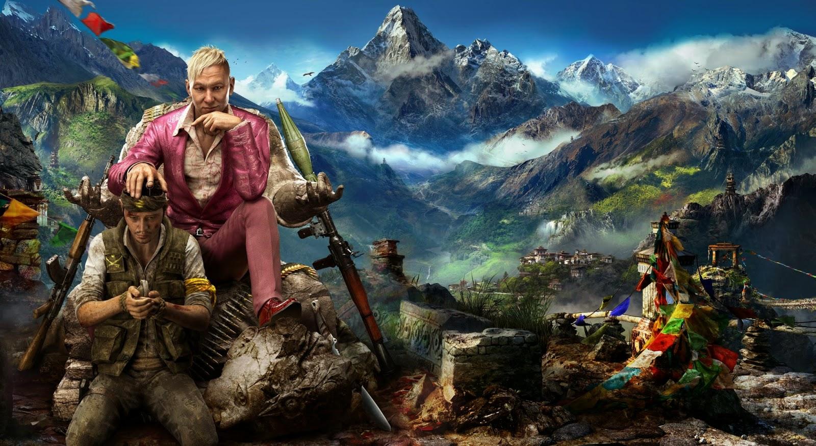Far Cry 4 Artwork HD Wallpaper