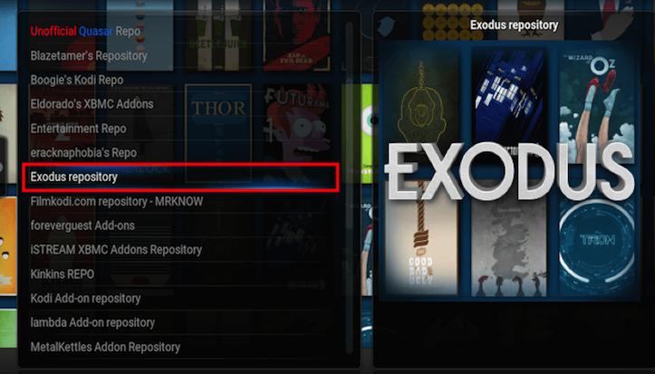 Best Kodi Repo Exodus