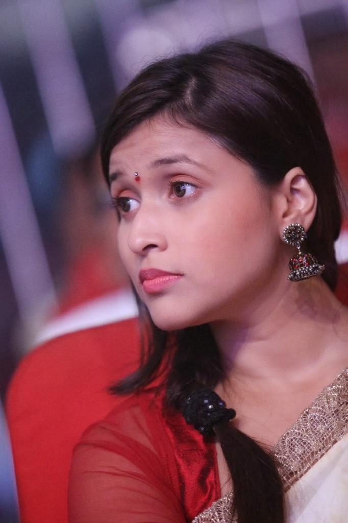 Barbie chopra photo gallery in saree at prema geema jantha nai movie audio launch function