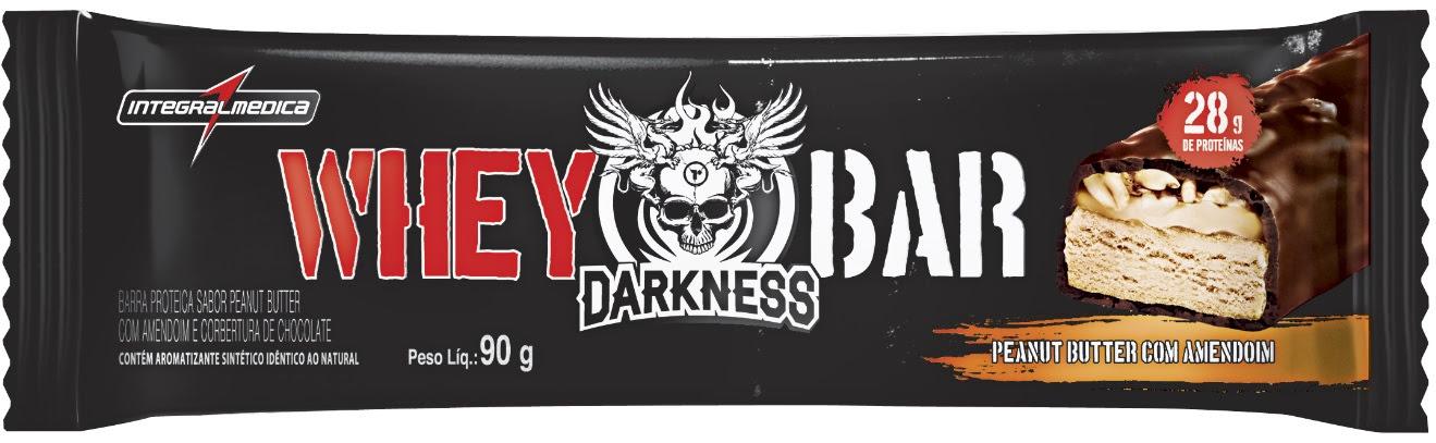 6179e1dec Lançamento  Darkness® Whey Bar   Integral Médica