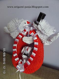 wesele, gołębie, ślub, młodzi, czerwony, biały,