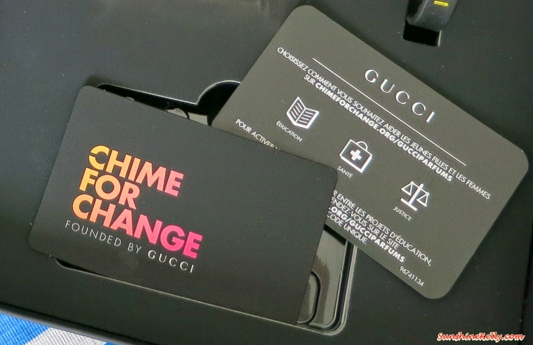 Gucci Chime for Change 2014, Gucci Fragrance, Gucci Parfums, Gucci Premiere, Flora by Gucci, Gucci Guilty pour Femme, Gucci Guilty pour Homme, Gucci Made to Measure, charity, fragrance