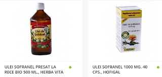 Comanda aici ulei de sofranel pt slabit cu livrare in strainatate