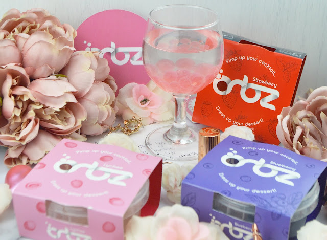 Pimp your cocktail with Orbz - Vegan & Vegetarian Friendly | Review, Lovelaughslipstick Blog