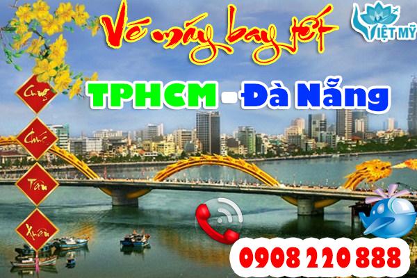 Vé máy bay tết TPHCM đi Đà Nẵng
