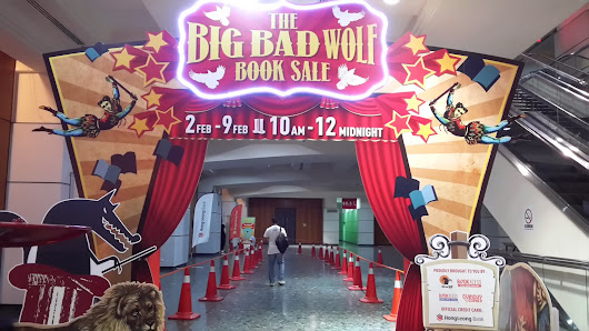 THE BIG BAD WOLF FIRE SALE MIECC