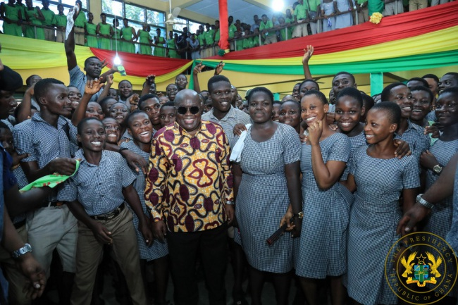 """""""Free SHS Policy Is Working"""" – President Akufo-Addo"""