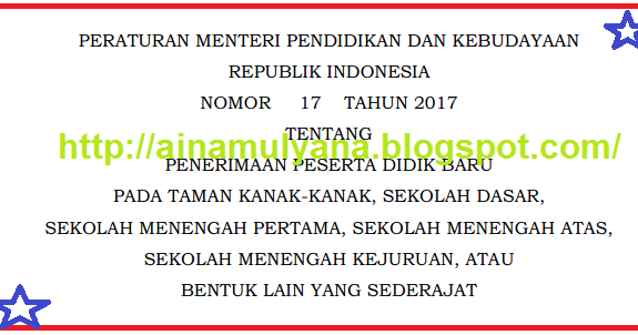 Download  Permendikbud No 17  Tahun  2017 762a1dfef5