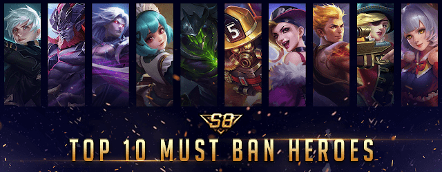 Ban Heroes Mobile Legends