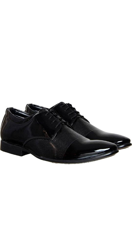79ab97e1320 DEEKADA with device dk Men s Patent Leather Shoes
