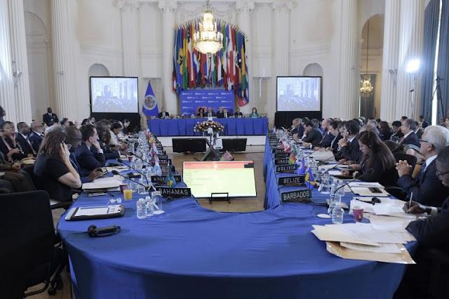 Resolución sobre Venezuela llega a la Asamblea General de la OEA