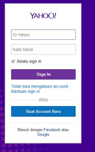 Cara Membuat Email Yahoo Baru Dengan Cepat Mudah | Daftar Email Yahoo