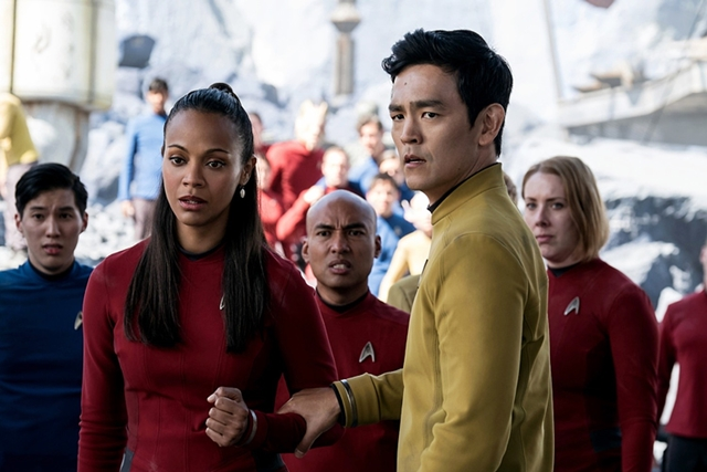 Star Trek, Star Trek Beyond, Jaylah, TGV Cinemas, Tanjung Golden Village Cinemas, Movie Review, Best Dressed, Chris Pine, Zachary Quinto, Zoe Saldana, John Cho, Simon Pegg, Idris Elba, Krall, Sofia Boutella,