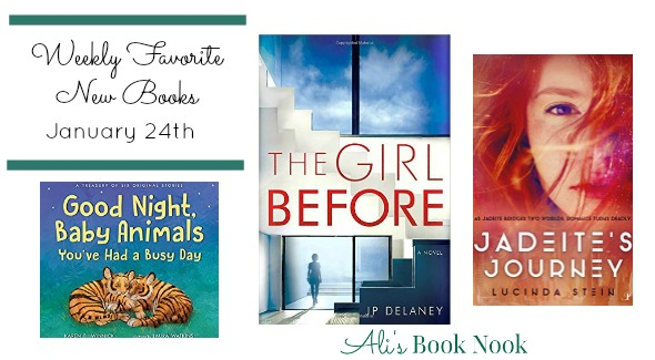 Favorite New Books Published this week January 24th